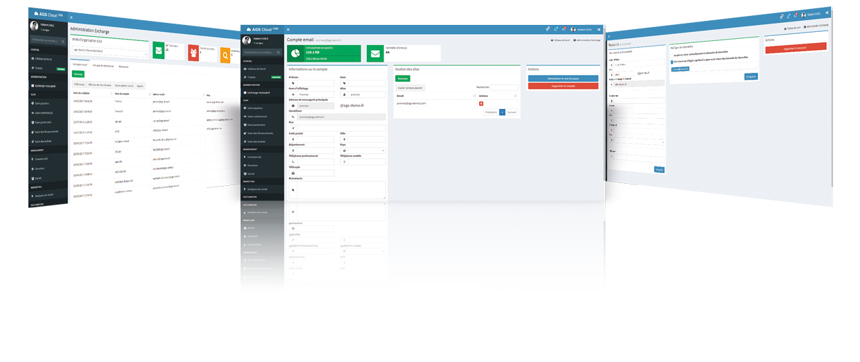 Console d'administration Exchange AGS Cloud CRM